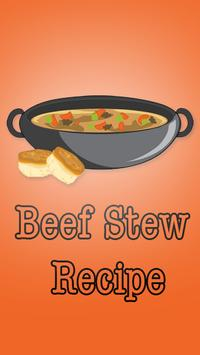 Beef Stew Recipe poster