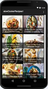 Slow Cooker Recipes poster