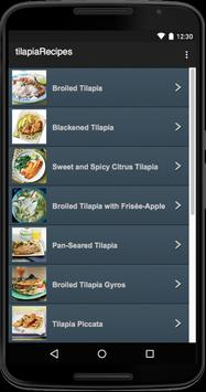 Tilapia Recipes poster