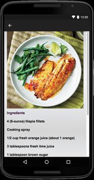 Tilapia Recipes apk screenshot