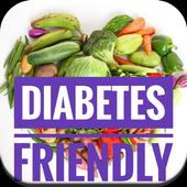 Diabetes-Friendly Food Recipes icon