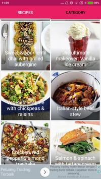 Diabetes-Friendly Food Recipes screenshot 1
