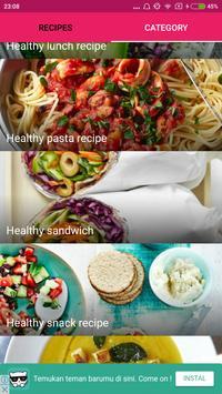 Healthy Recipes Ideas screenshot 3