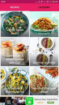 Healthy Vegan Recipes screenshot 1