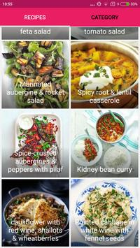 Healthy Vegetarian Recipes poster