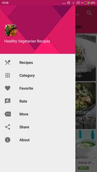 Healthy Vegetarian Recipes screenshot 7