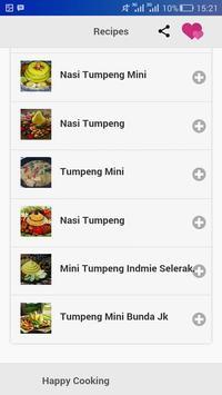 Resep Tumpeng screenshot 2