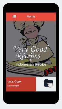 Recipes of Indonesian screenshot 1