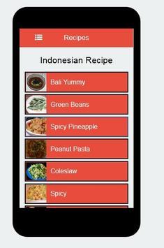 Recipes of Indonesian screenshot 2