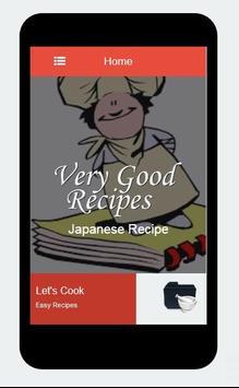 Recipes of Japanese apk screenshot