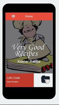 Recipes Kosher apk screenshot