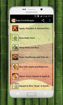Baby food recipes apk download free lifestyle app for android baby food recipes poster forumfinder Gallery
