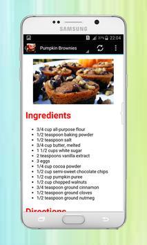 Brownie Recipes screenshot 1