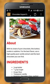 Cookies Recipes apk screenshot