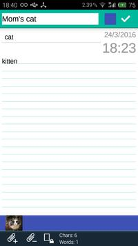 FlexNote - Your Notes Notepad! screenshot 3