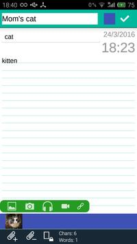 FlexNote - Your Notes Notepad! screenshot 4