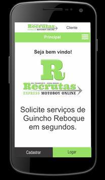 Recrutas Express - Cliente apk screenshot