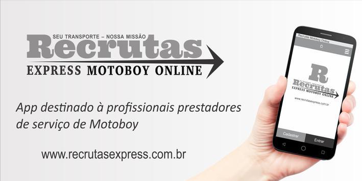 Recrutas Express - Motoboy screenshot 3