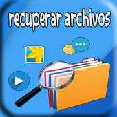 recuperar archivos borradas icon