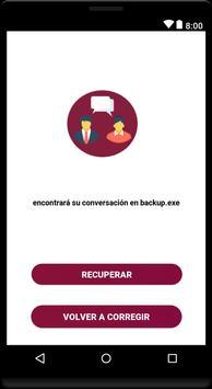 recuperar conversaciones borrados : sms&mensajes poster