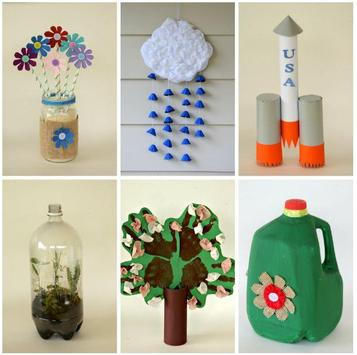 Recycled Craft Ideas poster