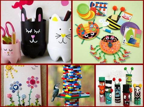 Recycled Craft Ideas screenshot 1