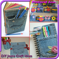Recycled Jeans Craft Ideas