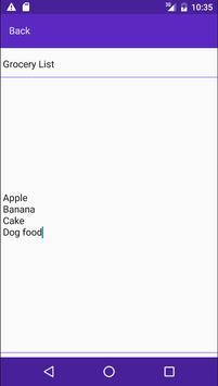 React NotePad apk screenshot