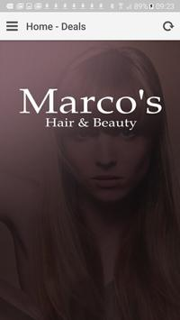 Marco's Hair & Beauty poster