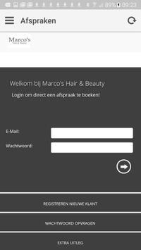 Marco's Hair & Beauty apk screenshot