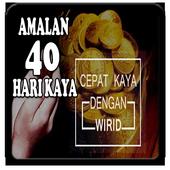 Amalan Kaya 40 Hari Lengkap icon