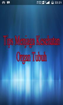 Tips Kesehatan Organ Tubuh poster