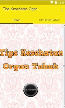 Tips Kesehatan Organ Tubuh screenshot 1