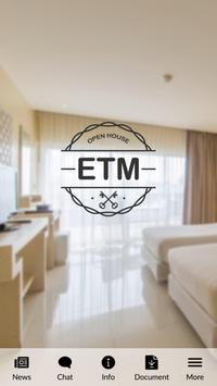 ETM Open House poster