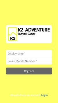K2 ADVENTURE Shop poster