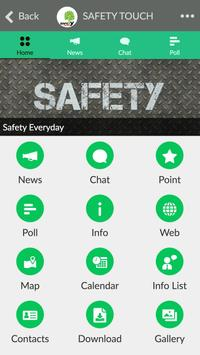 SAFETY TOUCH screenshot 1