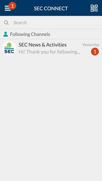 SEC CONNECT screenshot 1