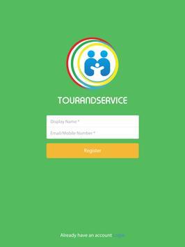 TOURANDSERVICE apk screenshot