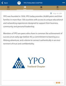 YPO THAILAND CHAPTER apk screenshot