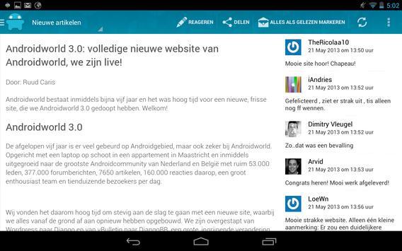 AW Reader: news & apps [Dutch] apk screenshot