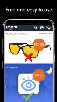 Blue Light Filter-Night Mode, Screen Dimmer screenshot 4