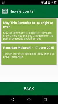 Reading Prayer Times apk screenshot