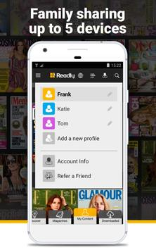 Readly – Read Unlimited Digital Magazines apk screenshot