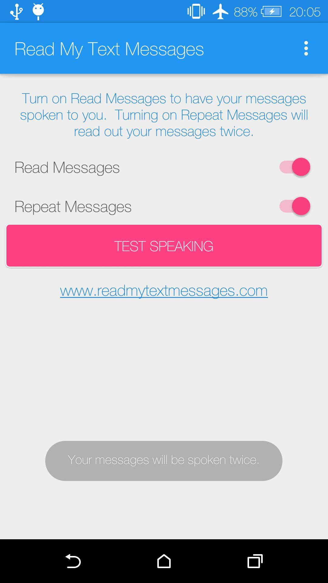 Read My Text Messages for Android - APK Download