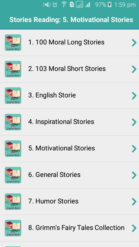 general stories in english