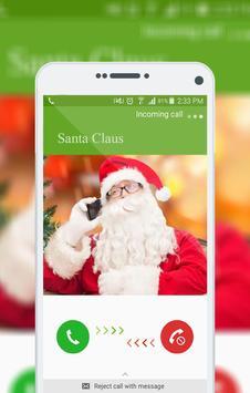Call Santa poster