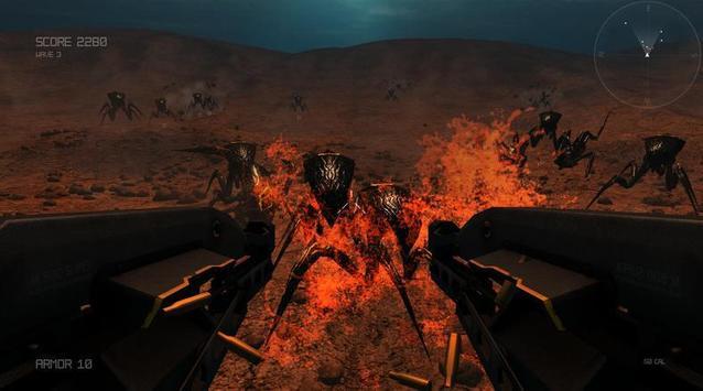 Aliens Shootout in Mars apk screenshot