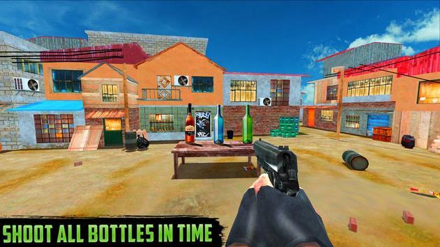 Real Bottle Shoot Hit apk screenshot