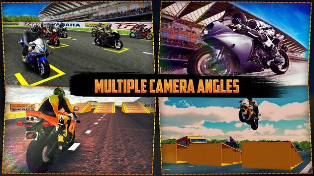 Xtreme Bike Stunt Racing Simulator 3D poster