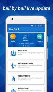 Live Crick apk screenshot
